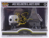 "Chris Sarandon Signed ""The Nightmare Before Christmas"" - Jack Skellington & Jack's House #07 Funko Pop! Vinyl Figure Inscribed ""Jack"" (PA COA) at PristineAuction.com"
