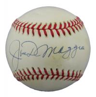 Joe DiMaggio Signed OAL Baseball (PSA LOA) at PristineAuction.com