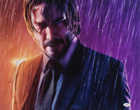 "Keanu Reeves Signed ""John Wick"" 16x20 Photo (PSA Hologram) at PristineAuction.com"