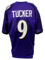 Justin Tucker Signed Jersey (JSA COA) at PristineAuction.com
