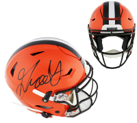 Greedy Williams Signed Browns Full-Size Authentic On-Field SpeedFlex Helmet (Radtke COA) at PristineAuction.com