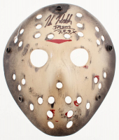 "Kane Hodder Signed ""Friday the 13th"" Mask Inscribed ""Jason 7, 8, 9, X"" (Beckett COA) at PristineAuction.com"