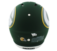 """Aaron Rodgers Signed Green Bay Packers AMP Full-Size Authentic On-Field Helmet Inscribed """"King of the North"""" (Fanatics Hologram) at PristineAuction.com"""