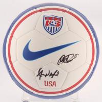 Alex Morgan & Megan Rapinoe Signed Team USA Soccer Ball (JSA COA) at PristineAuction.com