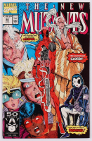 "1991 ""New Mutants"" Volume 1 Issue #98 Marvel Comic Book at PristineAuction.com"