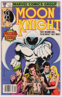 """1980 """"Moon Knight"""" Volume 1 Issue #1 Marvel Comic Book at PristineAuction.com"""