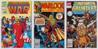 "Lot of (3) 1991 - 1992 ""Infinity Saga"" Marvel Comic Books at PristineAuction.com"