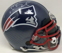 Tom Brady Signed Patriots Custom Hydro Dipped Full-Size Authentic On-Field Helmet (Tristar Hologram) at PristineAuction.com