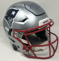 Tom Brady Signed Patriots Full-Size Authentic On-Field SpeedFlex Helmet (TriStar Hologram) at PristineAuction.com