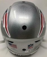 "Tom Brady Signed Patriots Full-Size Authentic On-Field SpeedFlex Helmet Inscribed ""Most SB MVP's"" (TriStar Hologram) at PristineAuction.com"