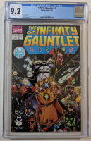 "1991 ""Infinity Gauntlet"" Issue #1 Marvel Comic Book (CGC 9.2) at PristineAuction.com"
