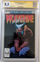 """Chris Claremont Signed 1982 """"Wolverine"""" Issue #3 Marvel Comic Book (CGC 8.5) at PristineAuction.com"""