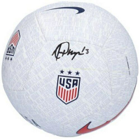 Alex Morgan Signed USA Soccer Ball (Fanatics Hologram) at PristineAuction.com
