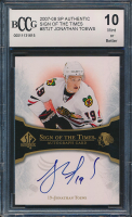 Jonathan Toews 2007-08 SP Authentic Sign of the Times #STJT (BCCG 10) at PristineAuction.com