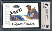 Clayton Kershaw 2007 Bowman's Best Prospects #BBP45 (BCCG 10) at PristineAuction.com