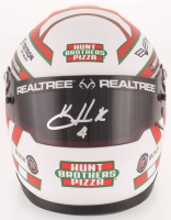 Kevin Harvick Signed NASCAR Hunt Brothers Pizza 1:3 Scale Mini-Helmet (PA COA) at PristineAuction.com