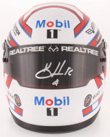 Kevin Harvick Signed NASCAR Mobil 1 1:3 Scale Mini-Helmet (PA COA) at PristineAuction.com