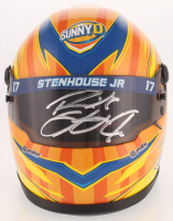 Ricky Stenhouse Jr. Signed NASCAR SunnyD 1:3 Scale Mini-Helmet (PA COA) at PristineAuction.com