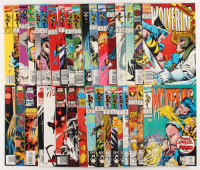 "Lot of (35) ""Wolverine"" 1st Series Marvel Comic Books at PristineAuction.com"