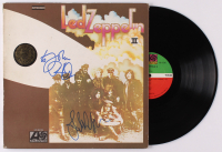 "Robert Plant & John Paul Jones Signed Led Zeppelin ""Led Zeppelin II"" Vinyl Record Album Cover (JSA ALOA) at PristineAuction.com"
