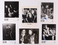 Lot of (6) Signed Guns N' Roses 8x10 Photos with Axl Rose, Duff McKagan, Slash, Matt Sorum, Steven Adler (JSA ALOA) at PristineAuction.com