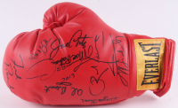 Everlast Boxing Glove Signed By (8) With Freddie Roach, Oscar De La Hoya, Marc Ratner (JSA ALOA) at PristineAuction.com