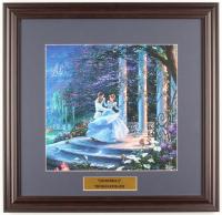 "Thomas Kinkade Walt Disney's ""Cinderella"" 18x18.5 Custom Framed Print Display at PristineAuction.com"