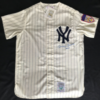 "Mickey Mantle Signed 1951 New York Yankees Jersey Inscribed ""No. 7"" (PSA LOA) at PristineAuction.com"