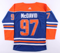 Connor McDavid Signed Edmonton Oilers Captains Jersey (PSA COA) at PristineAuction.com