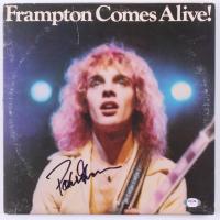 "Peter Frampton Signed ""Frampton Comes Alive!"" Vinyl Record Album (Beckett COA) at PristineAuction.com"