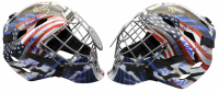 """1980 Team USA """"Miracle On Ice"""" Full-Size Goalie Mask Team-Signed by (18) with Jim Craig, Mike Eruzione, Ken Morrow, Mark Wells (Beckett COA) at PristineAuction.com"""