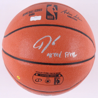 "Giannis Antetokounmpo Signed NBA Game Ball Series Basketball Inscribed ""Greek Freak"" (Radtke COA) at PristineAuction.com"