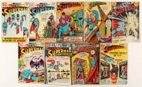 "Lot of (9) 1967-1975 ""Superman"" DC Comic Books at PristineAuction.com"