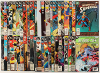 """Lot of (44) """"The Adventures of Superman"""" Action Comics DC Comic Books at PristineAuction.com"""
