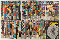 "Lot of (61) ""The Adventures of Superman"" Action Comics DC Comic Books at PristineAuction.com"