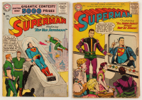 "Lot of (2) 1956 ""Superman"" 1st Series Action Comics DC Comic Books at PristineAuction.com"