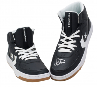 Pair of (2) Larry Bird Signed Converse Shoes (Beckett COA & Bird Hologram) at PristineAuction.com