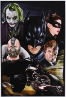 Tony Santiago - Dark Knight Trilogy - DC Comics 13x19 Signed Lithograph (PA COA) at PristineAuction.com