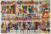 "Lot of (41) 1987-1995 ""Web Of Spider-Man"" 1st Series Marvel Comic Books at PristineAuction.com"