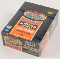 1992-93 Topps Stadium Club Series 1 Basketball Hobby Box with (36) Packs at PristineAuction.com