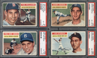 1956 Topps Baseball Complete Set Break Mystery BOX – 7 Cards Per Box! at PristineAuction.com