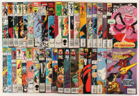 """Lot of (37) 1985-1997 """"The Spectacular Spider-Man"""" 1st Series Marvel Comic Books at PristineAuction.com"""
