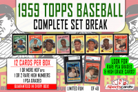 1959 Topps Baseball Complete Set Break Mystery BOX – 12 Cards Per Box! at PristineAuction.com