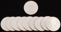 Lot of (10) Canadian Silver Dollars at PristineAuction.com