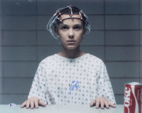 "Millie Bobby Brown Signed ""Stranger Things"" 16x20 Photo Inscribed ""011"" (Beckett COA) at PristineAuction.com"