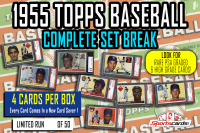 """1955 Topps Baseball Complete Set Break""  Mystery BOX – 4 Cards Per Box! at PristineAuction.com"