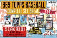 1969 Topps Baseball Complete Set Break JUMBO Mystery BOX – 20 Cards Per Box! at PristineAuction.com