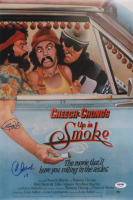"""Cheech Marin & Tommy Chong Signed """"Up In Smoke"""" 12x18 Photo Inscribed """"19"""" (PSA COA) at PristineAuction.com"""