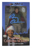"Chevy Chase Signed ""National Lampoon's Christmas Vacation"" Chainsaw Clark Figure (Beckett COA) at PristineAuction.com"
