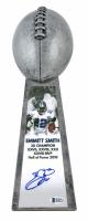 "Emmitt Smith Signed Cowboys 15"" Lombardi Football Championship Trophy (Beckett COA) at PristineAuction.com"
